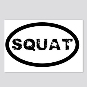 Squat Postcards (Package of 8)
