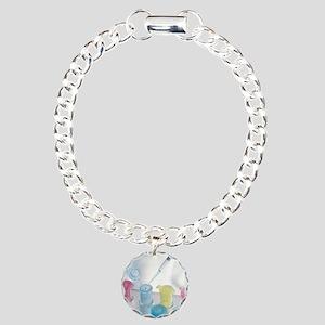 Pipetting Charm Bracelet, One Charm
