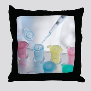 Pipetting Throw Pillow