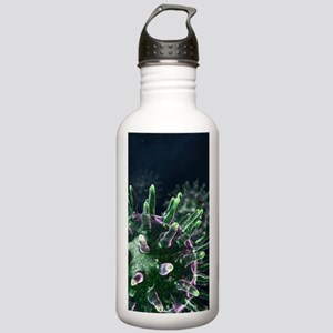 Virus particles, artwo Stainless Water Bottle 1.0L