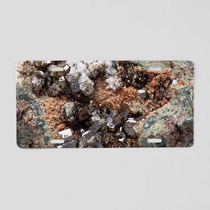 Vesuvianite mineral sample Aluminum License Plate