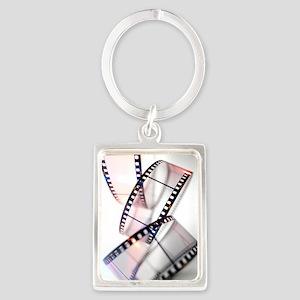 Photographic film Portrait Keychain