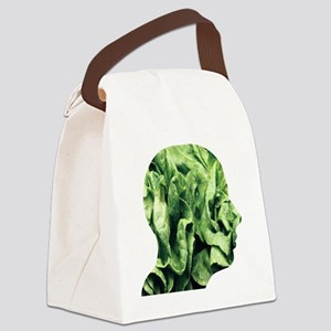 Vegetarianism, conceptual image Canvas Lunch Bag