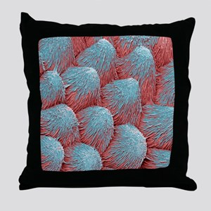 Orchid petal, SEM Throw Pillow