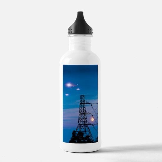 UFO sighting Water Bottle