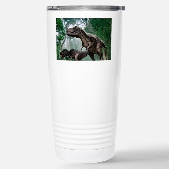 Tyrannosaurus rex dinosaurs Stainless Steel Travel