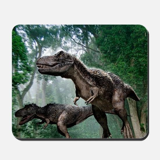 Tyrannosaurus rex dinosaurs Mousepad