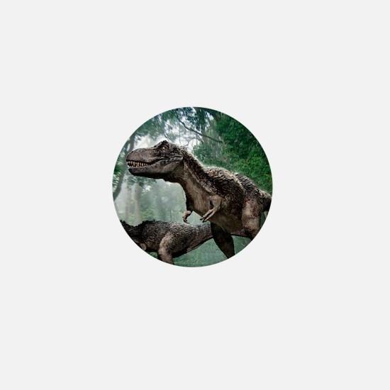 Tyrannosaurus rex dinosaurs Mini Button