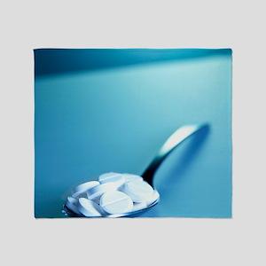 Painkiller overdose Throw Blanket