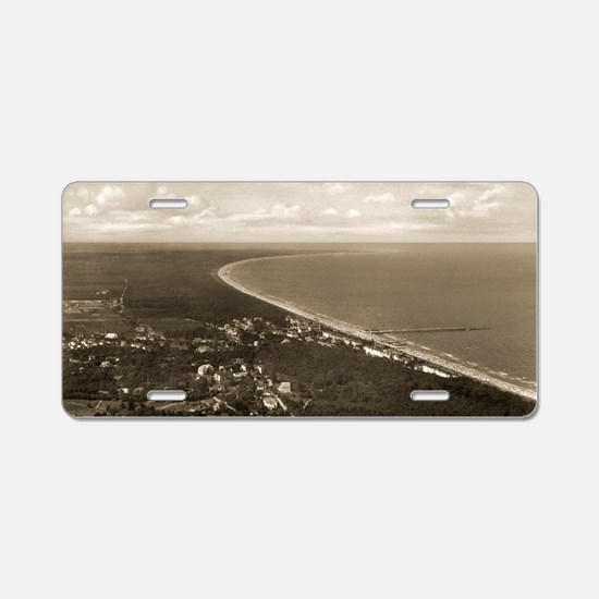 Usedom island, Germany 1938 Aluminum License Plate
