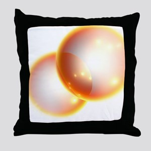 Oxygen molecule Throw Pillow