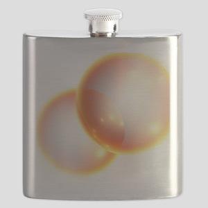 Oxygen molecule Flask