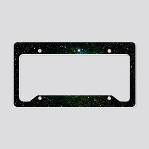 Trifid Nebula License Plate Holder