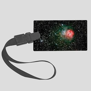 Trifid Nebula Large Luggage Tag