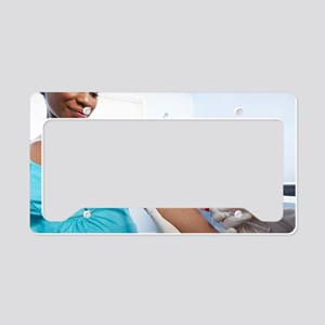 Obstetric examination License Plate Holder