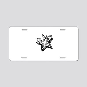 716 Aluminum License Plate