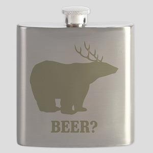 Beer Deer Bear Flask