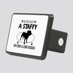 staffy designs Rectangular Hitch Cover