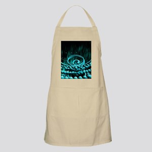 Neutrinos, conceptual artwork Apron