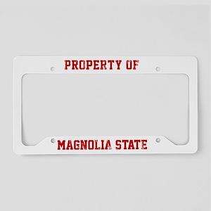 Mississippi, Magnolia State License Plate Holder