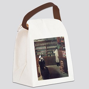 The Pharmacy, 1912 artwork Canvas Lunch Bag