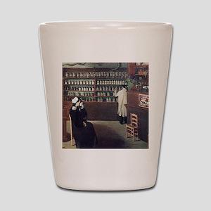 The Pharmacy, 1912 artwork Shot Glass