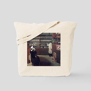 The Pharmacy, 1912 artwork Tote Bag