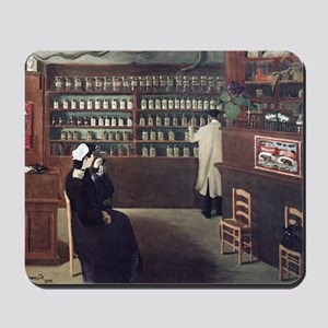 The Pharmacy, 1912 artwork Mousepad