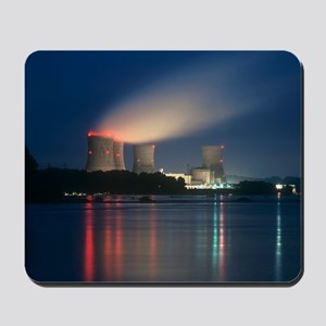 Three Mile Island nuclear power station Mousepad