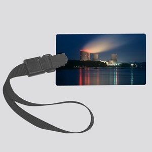 Three Mile Island nuclear power  Large Luggage Tag