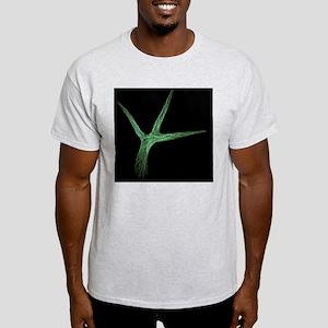 Thale cress leaf hair, micrograph Light T-Shirt