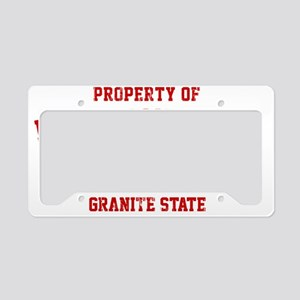 Property of NEW HAMPSHIRE License Plate Holder