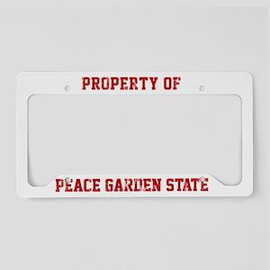 Property of NORTH DAKOTA License Plate Holder