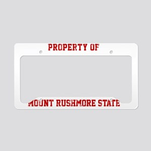 Property of SOUTH DAKOTA License Plate Holder