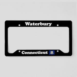 Waterbury, CT License Plate Holder