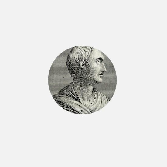 Tacitus, Roman senator and historian Mini Button