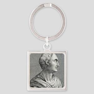 Tacitus, Roman senator and histori Square Keychain