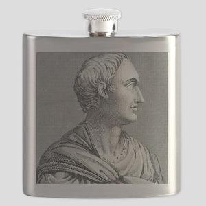 Tacitus, Roman senator and historian Flask