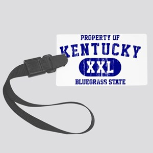 Kentucky, Bluegrass State Large Luggage Tag