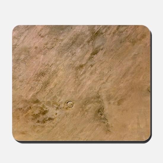 Tenoumer Crater, satellite image Mousepad