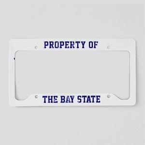 Massachusetts, The Bay State License Plate Holder