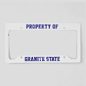 New Hampshire, Granite State License Plate Holder