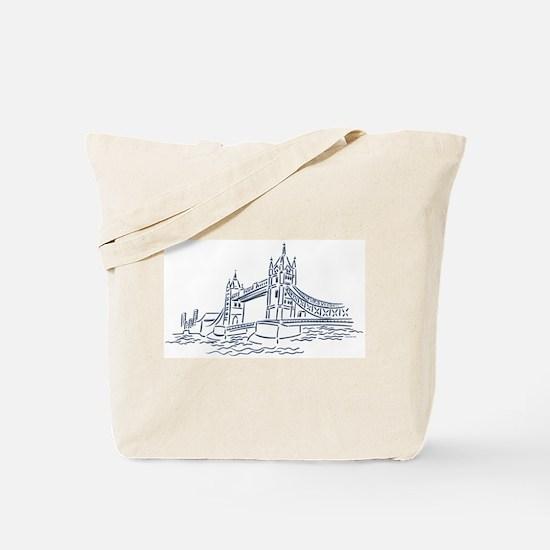 England: Tower Bridge Tote Bag