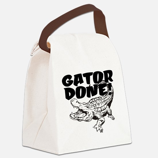 Gator Done! Canvas Lunch Bag