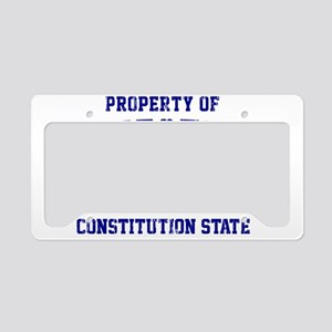 Connecticut, Constitution Sta License Plate Holder