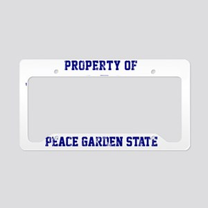 North Dakota, Peace Garden St License Plate Holder