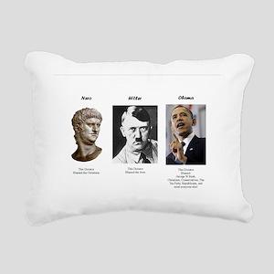 Dictator blame Rectangular Canvas Pillow