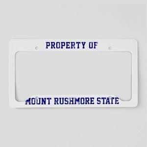 South Dakota, Mount Rushmore  License Plate Holder