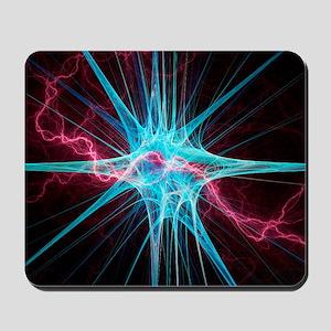 Nerve cell, artwork Mousepad