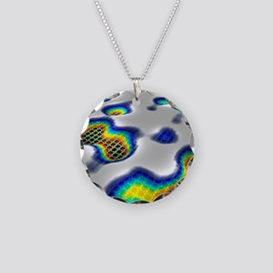 Superconductor simulation Necklace Circle Charm